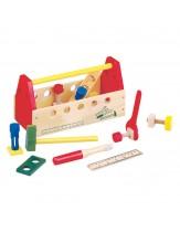 Lesena škatla z orodjem